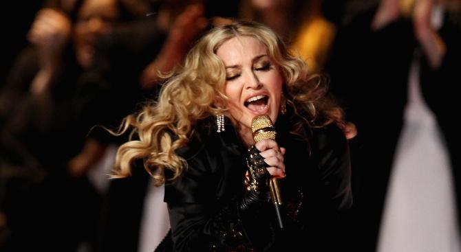 Кралицата на поп музиката Мадона, която ще пее като гост
