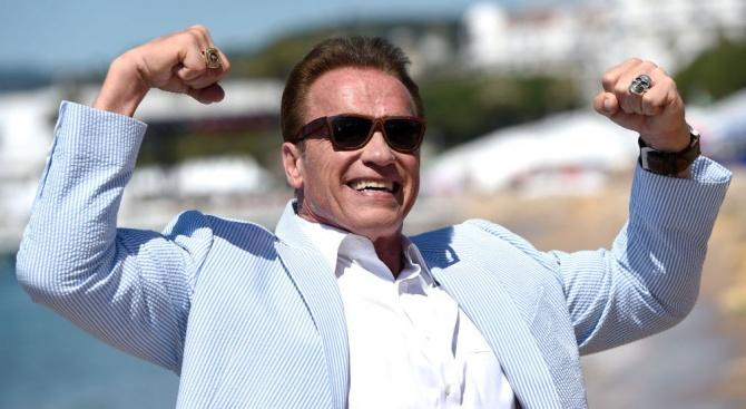 Холивудският актьор и бивш губернатор на Калифорния Арнолд Шварценегер стана