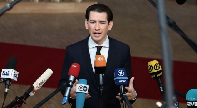 Курц обяви край на коалицията с крайната десница и призова за предсрочни избори