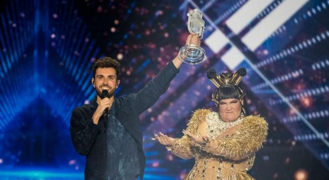 """Представителят на Холандия Дънкан Лорънс спечели песенният конкурс на """"Евровизия"""""""