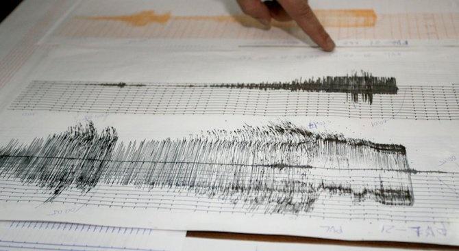 Земетресение от 4,1 по Рихтер люшна Румъния