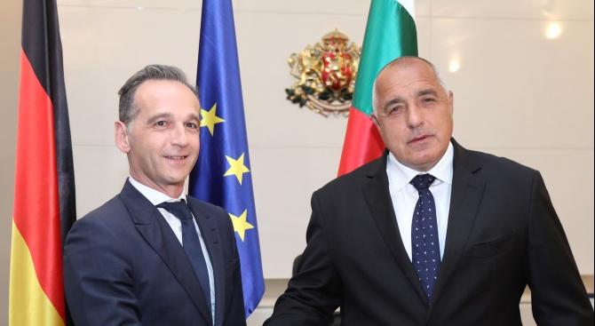 Министър-председателят Бойко Борисов се срещна с министъра на външните работи