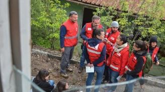 БЧК тества реакциите на службите при земетресение от 7.8 степен
