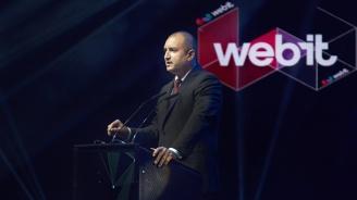 Румен Радев: Благодарение на Webit Festival всички имаме уникалния шанс заедно да погледнем в бъдещето