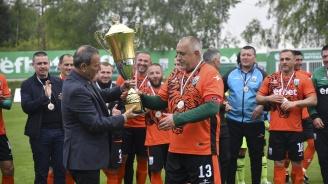 Борисов с цял мач при шампионски финал на Бистришките тигри