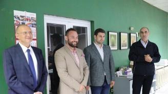 Цветан Цветанов и Андрей Новаков посетиха най-старата русенска печатница