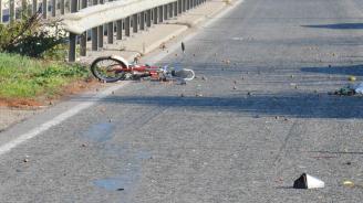 Велосипедист е загинал тази нощ на пътя край Ловешко