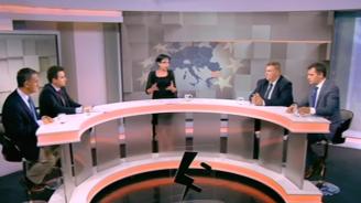 Скандали и взаимни обвинения в дебат между ГЕРБ, БСП, ВМРО и Демократична България за бъдещето на Евросъюза
