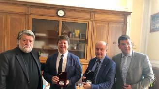 Вежди Рашидов се срещна с испански мениджъри в културата