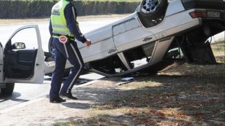 Катастрофа край Варна, има пострадал