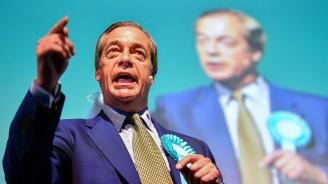 Новата партия на Найджъл Фараж води убедително преди евроизборите
