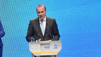 Манфред Вебер: Първата ми повеля ще бъде България да стане пълноправен член на Шенген