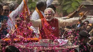 Изборният маратон в Индия приключи, първи екзитполове сочат убедителна победа на управляващата партия на премиера Моди