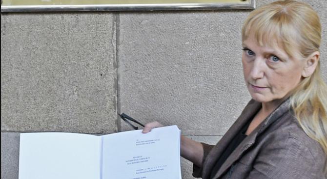 Елена Йончева внесе три сигнала до прокуратурата
