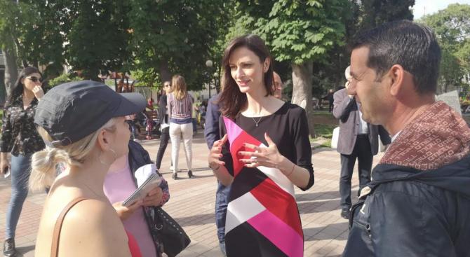 Водачът на листата на ГЕРБ и СДС за европейските избори