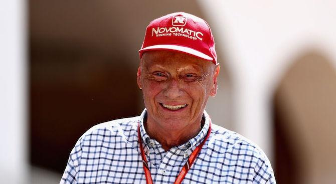 Трикратният световният шампион от Формула 1 Ники Лауда почина на
