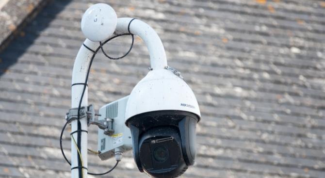 Система за видеонаблюдение е монтирана на Скалния манастир край село