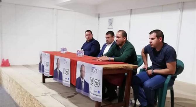 Кандидатът за член на ЕП Младен Шишков се срещна с