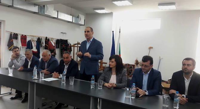 На първите избори за ГЕРБ в община Доспат гласуваха едва