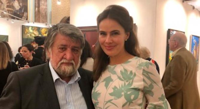 Лондонското биенале за изкуство аплодира Вежди Рашидов