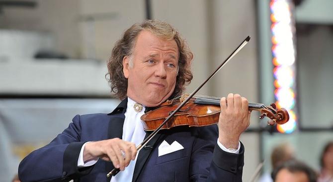 Специална изненада е подготвил за българската публика световноизвестният цигулар и