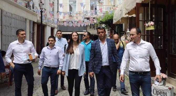 Кандидатите за евродепутати от листата на ГЕРБ и СДС Андрей