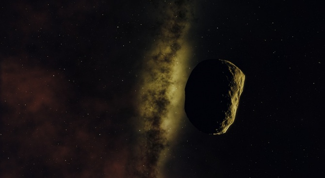 Астероид с диаметър 1,6 километра ще премине днес на разстояние