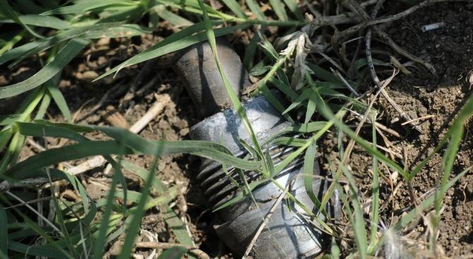 Военни унищожиха невзривен боеприпас, открит в частен имот