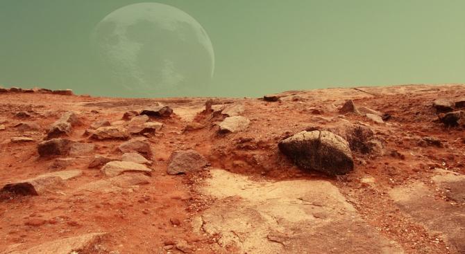 Учени откриха уникален феномен на Марс