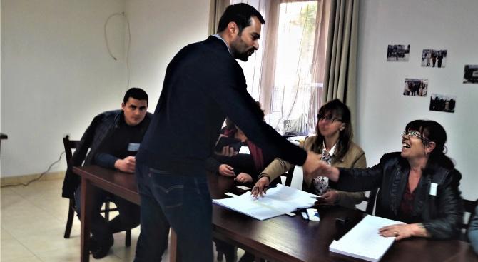 Гласувах за силна и градивна България в Европа, за активни