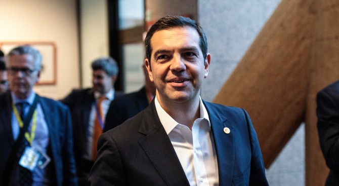 Днешният ден е ден на отговорност, каза гръцкият премиер Алексис