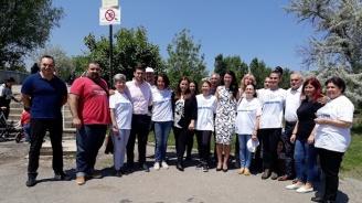 Андрей Новаков и Йоана Йончева-Фильова присъстваха на курбан за здраве и успех