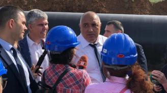 Борисов: След автомагистралите правим и газови магистрали. Другите не знаят диверсификация какво е, а ние я правим реално