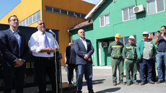 Бойко Борисов: Доходите се повишават с индустриализация