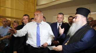 "Борисов посети новостроящия се храм ""Св. Прокопий Варненски"""