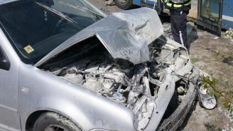 Пияна шофьорка катастрофира в Добрич