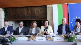 Ивелина Василева в Перник: Ще продължим да работим за развитието на икономиката, изграждането на добра инфраструктура и инвестиции в младите хора