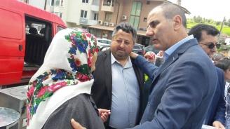 Цветан Цветанов се срещна с жители на с. Борино