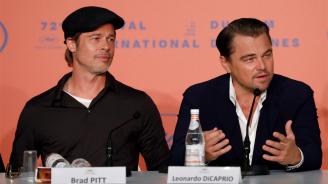 Брад Пит за Леонардо ди Каприо се надяват отново да се срещнат на снимачната площадка