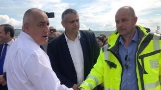 """Бойко Борисов: До октомври догодина ще е готова автомагистрала """"Европа"""""""