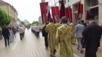 На живо: Започна тържественото празнично шествие по повод 24 май
