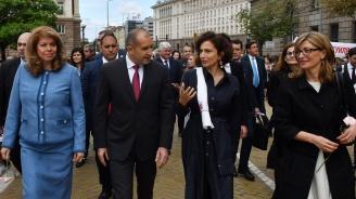 Румен Радев: Българската писменост се е превърнала в наш щит