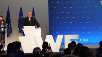 Бойко Борисов: Европа винаги е била дясна и разумът ще надделее
