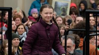 Шведската активистка Грета Тунберг в Дания: Все още можем да поправим нещата