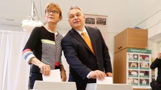Виктор Орбан: Надявам се, че антиимигрантските партии ще надделеят