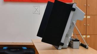 В Столипиново машини за гласуване светят, но никой не ги ползва
