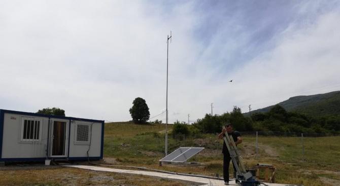 Нови 1 млн. дка обработваема земя в областите Стара Загора и Пловдив от днес са под противоградова защита
