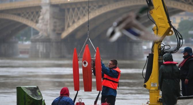 Южнокорейските туристи, чието корабче се преобърна и потъна в река