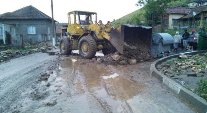 Проливният дъжд в Ловешко е нанесъл големи щети в архитектурния резерват Старо Стефаново