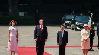 Тръмп стана първият чуждестранен лидер, срещнал се с новия император на Япония